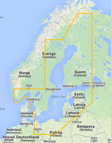 Navionics Gold Østersøen 44XG