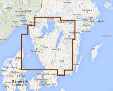 Navionics: Vestlige Sverige