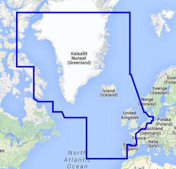 Atlanterhavet - Nord