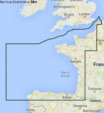 PC Søkort: Nordfrankrig