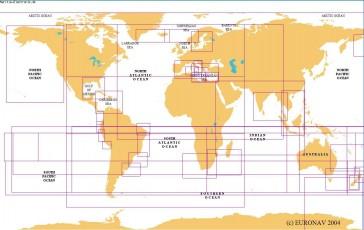 Verdenskort planlægningskort