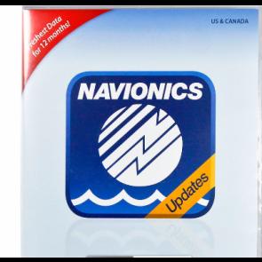 Opdatering af Navionics Gold