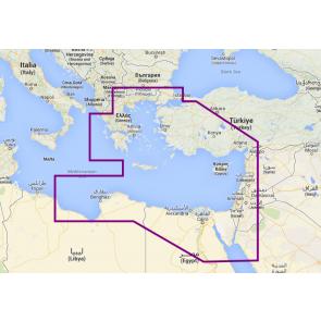 Navionics Platinum+ Østlige Middelhavet 34P+