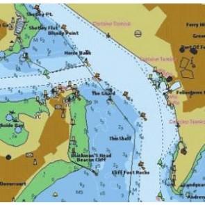 PC navigationsplotter inkl. 1 stik C-Map Wide kort