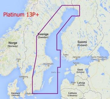 Tilbud: Navionics Platinum+ Sverige