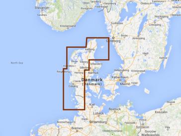 Navionics Jylland Vest