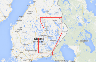 FINLAND LAKES SOUTH EAST