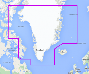 greenland and iceland