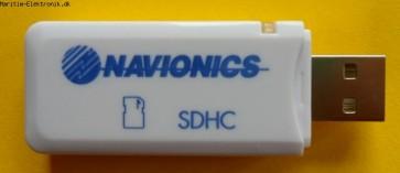 Navionics kortlæser