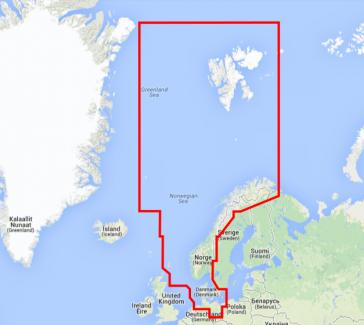 DK, Nordsøen & Norge