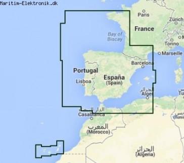 PC Søkort - Spanien