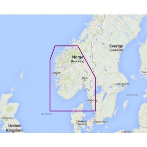 Navionics Platinum+ Sydvestlige Norge